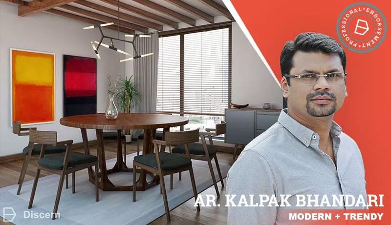 Modern Dining Room: A Look Endorsed By Architect Kalpak Bhandari